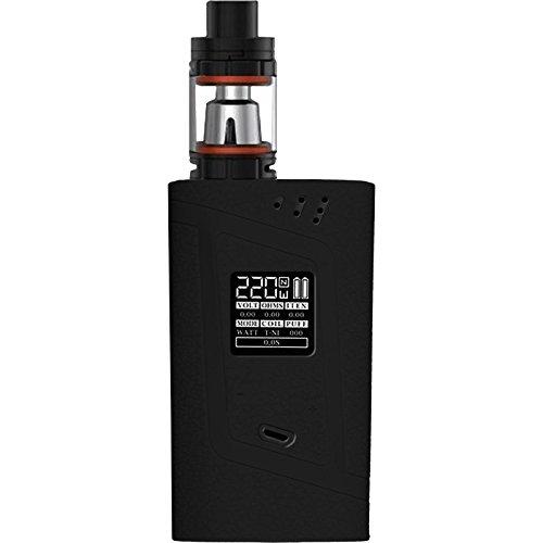 PhoneNatic Case kompatibel mit SMOK Alien 220W - Hülle Silikon schwarz Cover Tasche Alien-cover