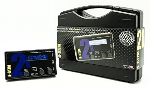 ESTIM SYSTEM 2B, Reizstromgerät für ESTIM, 2 isolierte Kanäle, 17 Programme, Audio-System mit Soundsteuerung integriert, einfache Handhabung Personal Audio System