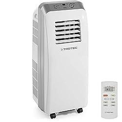 TROTEC PAC 2600 E Lokales mobiles Klimagerät mit 2,6 kW / 9.000 Btu (EEK: A)