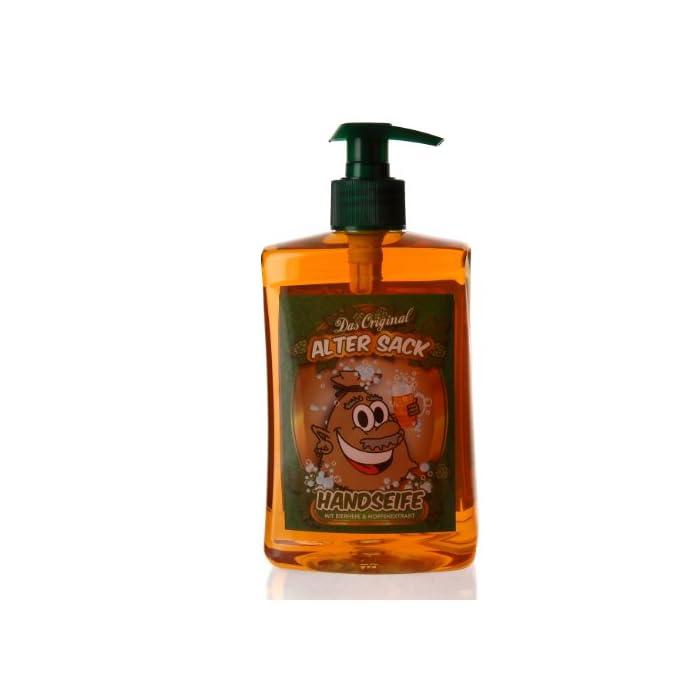 Lustapotheke® Flüssige Seife für Alte Säcke mit Extrakten aus Bierhefe & Hopfe