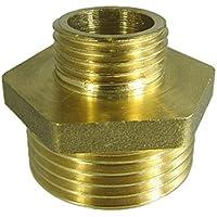 """Rc Junter 670-02 - Machón reducido latón, 3/4"""" x 1/2"""", 2.5 x 2 x 2 cm, color dorado"""