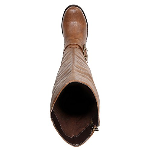 Carlos by Carlos Santana Gramercy Wide Calf Mode-Knie hoch Stiefel Cognac