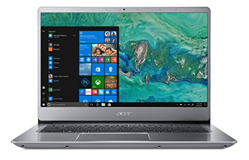"Foto Acer Swift 3 SF314-54-8918 Notebook con Processore Intel Core i7-8550U, RAM da 8 GB DDR4, 256 GB SSD, Display 14"" Full HD IPS LED LCD, Scheda grafica Intel UHD 620, Windows 10 Home, Silver"