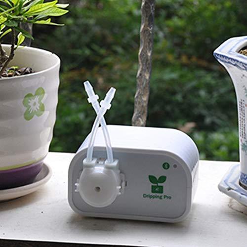 honic piante da vaso automatico interni diy del telefono di controllo del sistema bonsai auto watering mini usb timing fiori irrigazione a goccia kit smart: cina, ue
