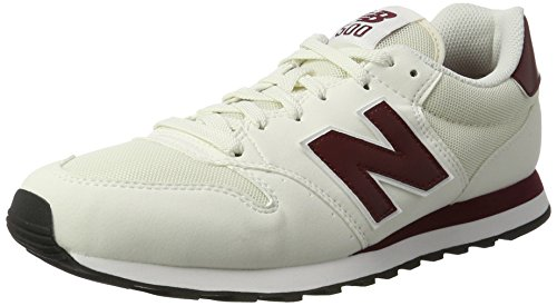 New Balance GM500 Sneaker Uomo Bianco White/Red 40.5 EU N6d