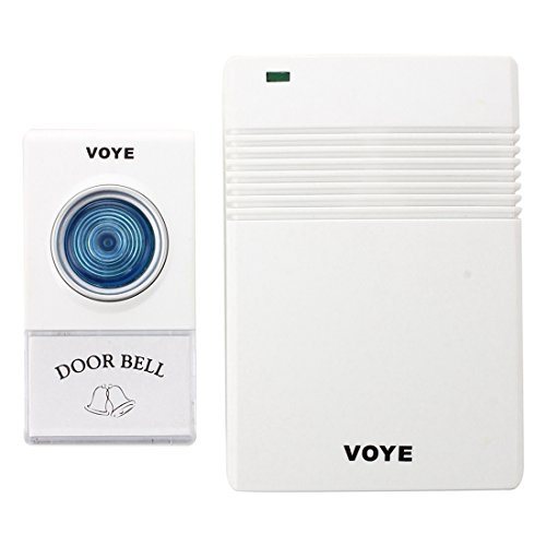 Preisvergleich Produktbild TOOGOO(R) Wireless Tuerklingel Funk Tuer Klingel Funkklingel Doorbell Klingelanlage 10 Musik