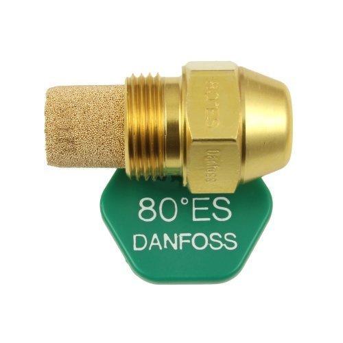 DANFOSS ÖL Gefeuert Boiler Verbrenner Düse 1.00 x 80 ES USgal/h ° Grad Spray Muster 1.0 Heizung Jet 3.00 kg/h 3.0 -