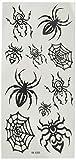 YiMei YiMei Wasserdicht temporäre Tattoos schwarze Spinne Insekt