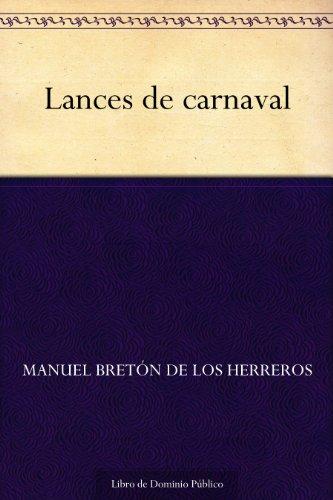 Lances de carnaval por Manuel Bretón de los Herreros