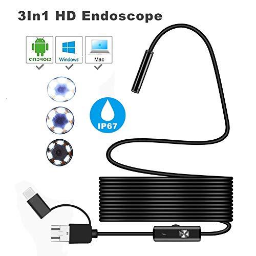 HRRH Mini cámara endoscópica
