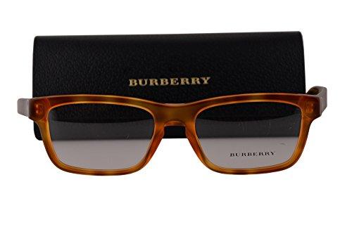 BURBERRY BE2226 Brillen 55-18-145 Licht Havana Braunem Mit Demonstrationsgläsern 3605 BE 2226