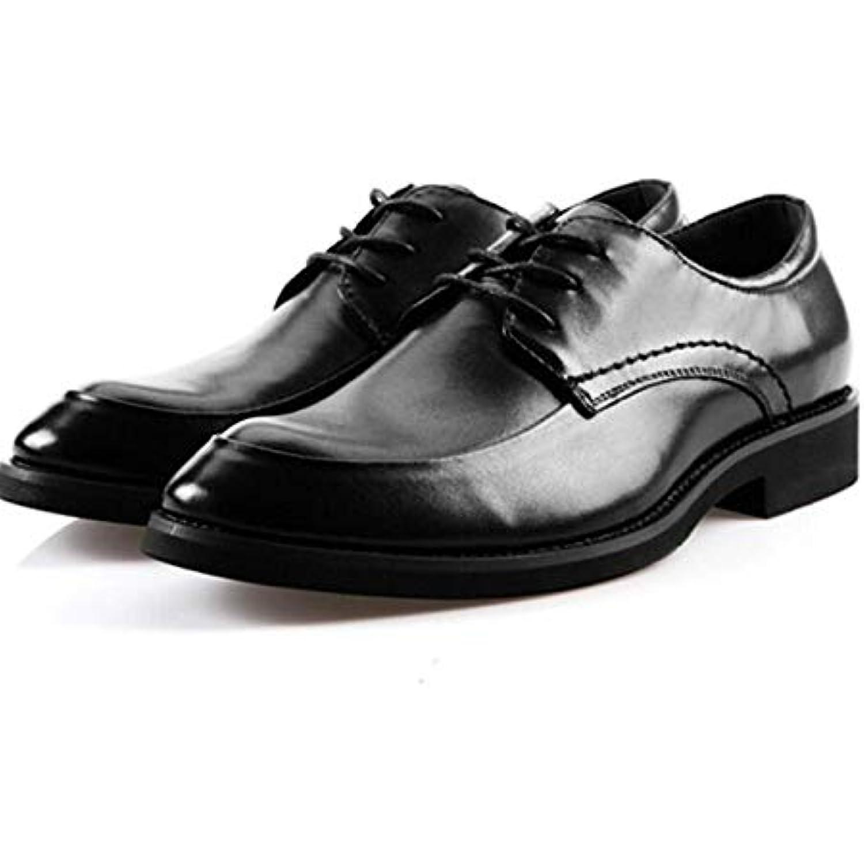 Les Les Les Hommes Portent des Chaussures en Cuir Noir, Nouvelle Entreprise, Décontracté, Travail, Dentelle, Chaussures... - B07JDX8LGR - ce324a