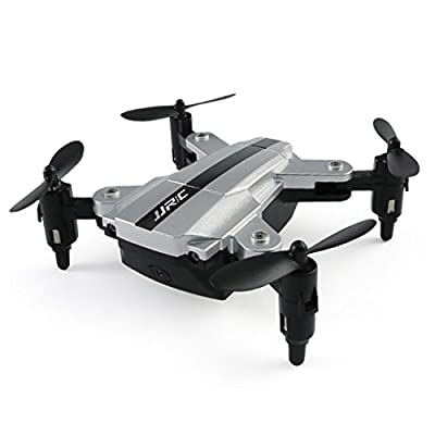 RC Mini Foldable Pocket Drone, JJRC H54W Micro FPV Quadcopter Altitude Hold Mode Selfie 480P WiFi HD Camera, Mobile APP Control, Real-time Flying Experience