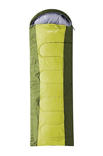 Amila Komfort leicht tragbar, einfach zu Komprimieren, Umschlag Schlafsäcke mit Kompression Tasche, grün Kelty Kids Rucksack Rucksack