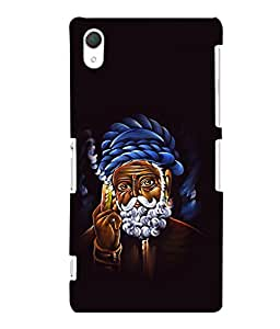 printtech Weed Smoke Traditional Back Case Cover for Sony Xperia Z2::Sony Xperia Z2 L50W D6502 D6503