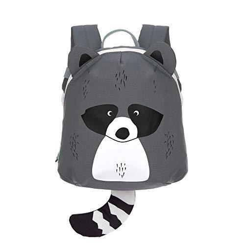 LÄSSIG Kinderrucksack für Kita Kindertasche Krippenrucksack mit Brustgurt/Tiny Backpack, About Friends Racoon