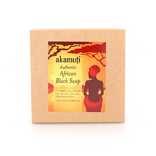 Akamuti African Black Soap 130G