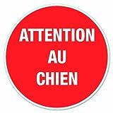 Chapuis DS23 Disque pvc adhésif D 280 mm Attention au chien