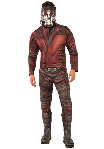 Deluxe Star-Lord Mens Fancy dress costume Standard
