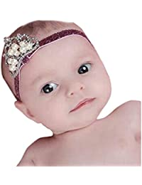 Interent Bande de cheveux Couronne princesse Baby Girl cristal perle Couronne bandeau