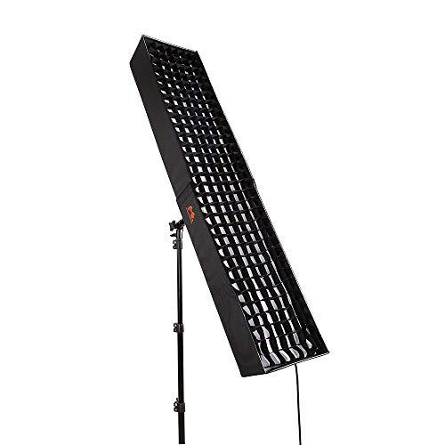 FALCONEYES RX-29TDX W/Soft Box 100W Bi-Color Roll-Flex Flexible LED Panel Falcon-serie-handys
