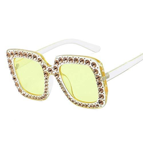 SENCILLO Damen Sonnenbrille Wayfarer Mirrored Metallrahmen 100% UV Schutz Driving Polarized Sunglasses (4)