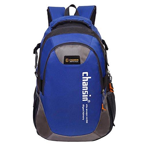 Wmshpeds Busta esterna giovane zaino impermeabile borsa di arrampicata borsa da viaggio studentessa in borsa H
