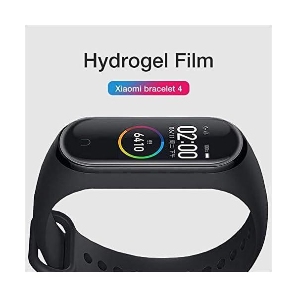 Jiadi M4 Smart Bracelet Fitness Tracker, IP67 Impermeable Monitor de Ritmo cardíaco dinámico Podómetro Banda Inteligente… 3