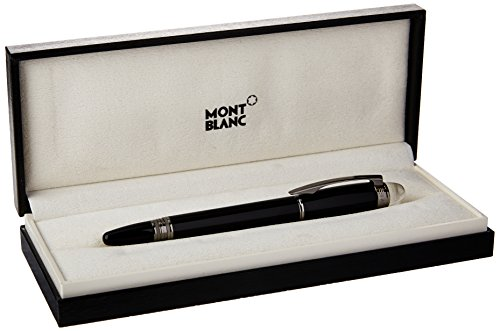 Montblanc Starwalker Collection MB 105656 Stylo roller en résine Midnight Black - Noir