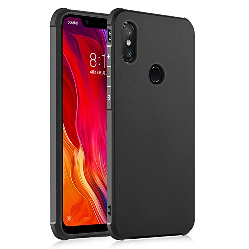Hevaka Blade Xiaomi Mi 8 SE Custodia - TPU Smart Cover Case Per Xiaomi Mi 8 SE - Nero
