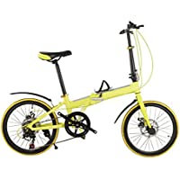 Coche Plegable 20 Pulgadas Bicicleta Plegable De Aluminio De 16 Pulgadas Freno De Disco Doble Bicicletas