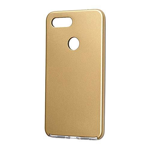 SINO Nuevo Ultra Delgado Xiaomi Mi 8 Lite Shockproof 360 Completo Funda Cubierta Protectora Dura para Teléfono Móvil (Xiaomi Mi 8 Lite, Dorado)