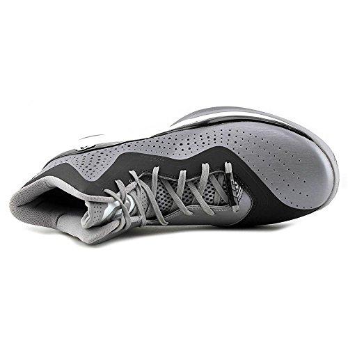 Adidas D Rose 773 III Men's Basketball Shoe 10 Aluminum-Nero-bianco Aluminum-Black-White