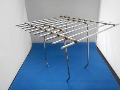Dohlenschutzgitter / Dohlengitter Edelstahl 250 x 250 mm