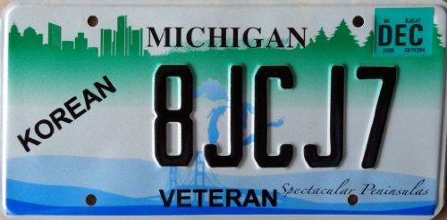us-nummernschild-michigan-kennzeichen-motivschild-license-plate-autoschild-usa