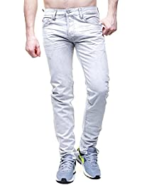 Jeans Japan Rags Basic 611 Gris WC303