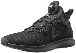 Reebok Women s Pump Plus Flame Running Shoe Black 7.5 B(M) US