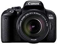 كاميرا دي اس ال ار كانون اي او اس 800D اي اف-اس قياس 18-135 ملم بعدسة ذات بعد بؤري 3.-5.6 اي اس اس تي ام بدقة