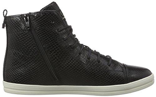 ESPRIT Mega Damen Hohe Sneakers Schwarz (001 Black)