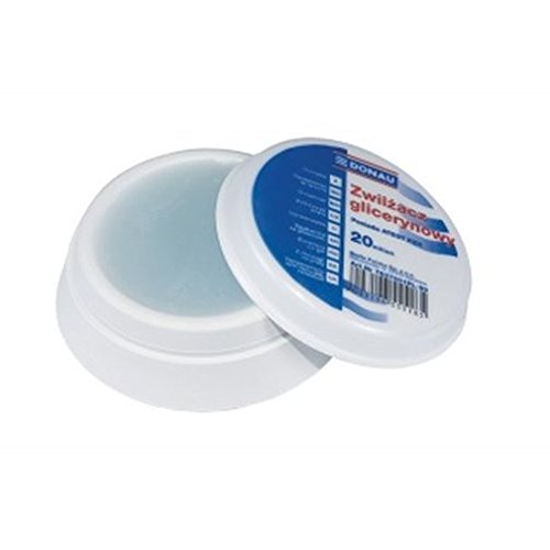 DONAU 7637001PL-99 Fingeranfeuchter auf Glycerinbasis, mit PZH-Attest, 20 ml