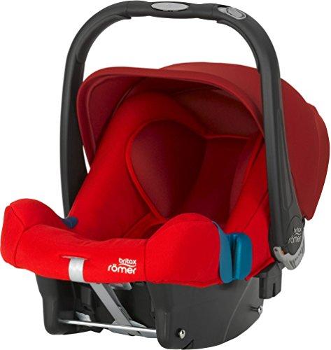 Preisvergleich Produktbild Britax Römer Babyschale BABY-SAFE PLUS SHR II, Gruppe 0+ (Geburt - 13 kg), Kollektion 2017, Flame Red