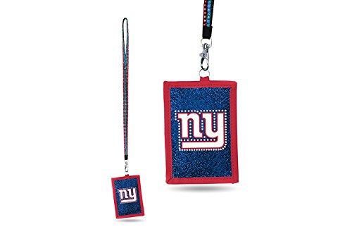 Rico NFL Umhängeband mit Nylon-Geldbörse, Jungen Damen Mädchen Unisex Herren, New York Giants (York Giants-mädchen New)