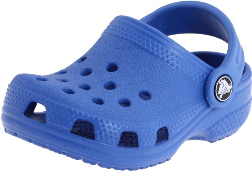 Crocs Crocs Littles, Unisex-Kinder Clogs, Blau (Sea Blue 430), 17/19 EU
