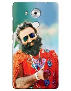 Omnam Guru Ram Rahim Ji Printed Designer Back Cover Case For Huawei Honor Mate 8