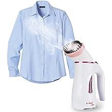 E-best Mini Garment Streamer Plancha a Vapor Portátil---Color rosa.