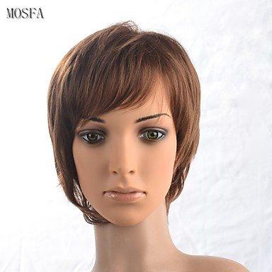 HJL-2015 femmes Ombre r¨¦sistant perruque de cheveux synth¨¦tiques mode janpanese de chaleur onduleux naturel 16345- # 8230 12 \\