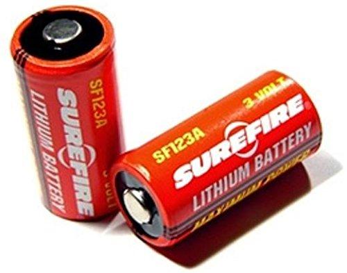 CR123A SF123A Batterie von SureFire im 2er Pack Surefire Batterie