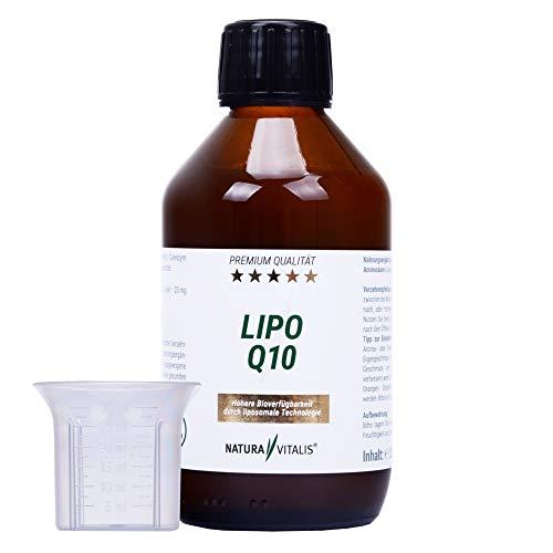 Natura Vitalis Lipo Q10-250ml - liposomales Q10 + L-Lysin