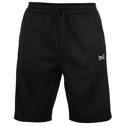 everlast-polaire-homme-short-bermudas-calecons-casual-sport-ete-cordon-ajustable-noir-medium