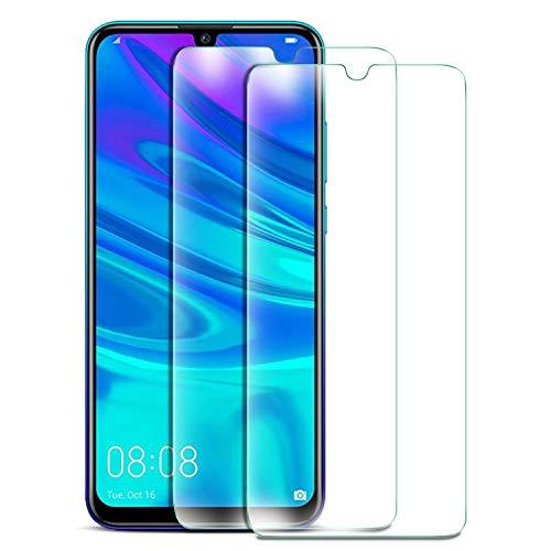 KuGi pour Huawei p Smart 2019/Huawei p Smart Plus 2019 Protection Ecran, Ultra Résistant Film Protection écran Glass [Dureté 9H] Screen Protector Convient Conçu pour Huawei P Smart 2019(Pack de 2)